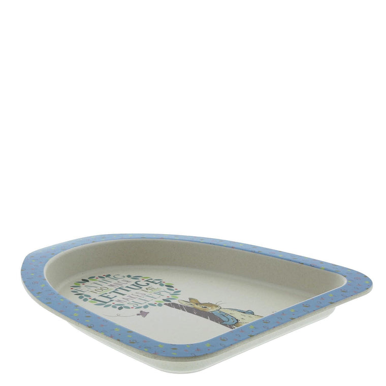 Beatrix Potter Peter Rabbit Bamboo Plate