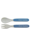 Beatrix Potter Peter Rabbit Organic Fork and Spoon Set