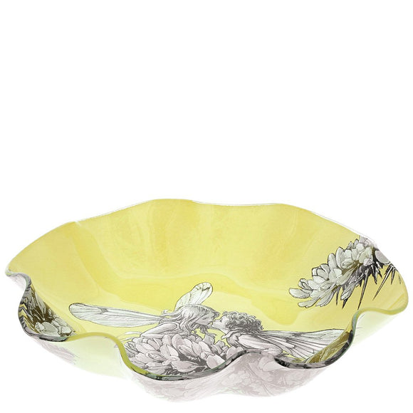 Flower Fairies Gorse Glass Dish (23.0cm)