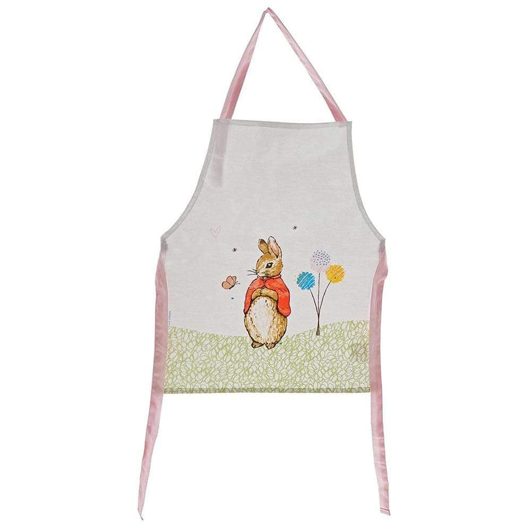 Flopsy Childrens Apron by Beatrix Potter