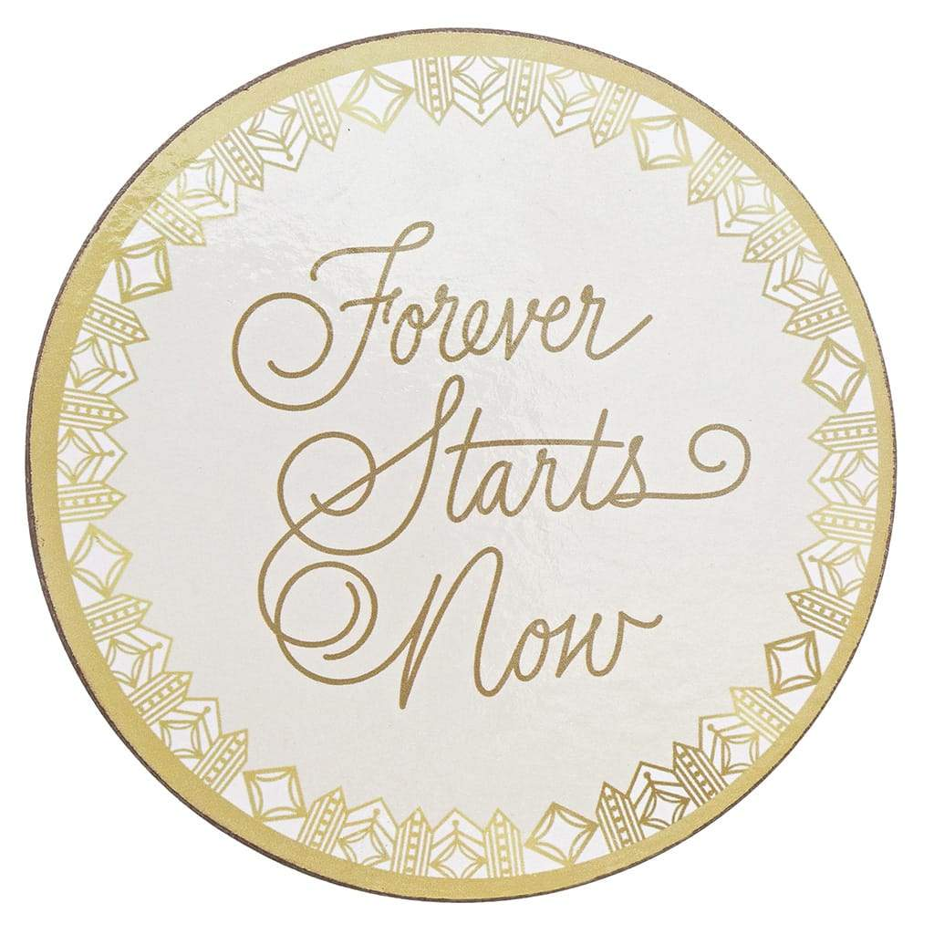 Love Always Collection Forever Coasters (Set of 4)