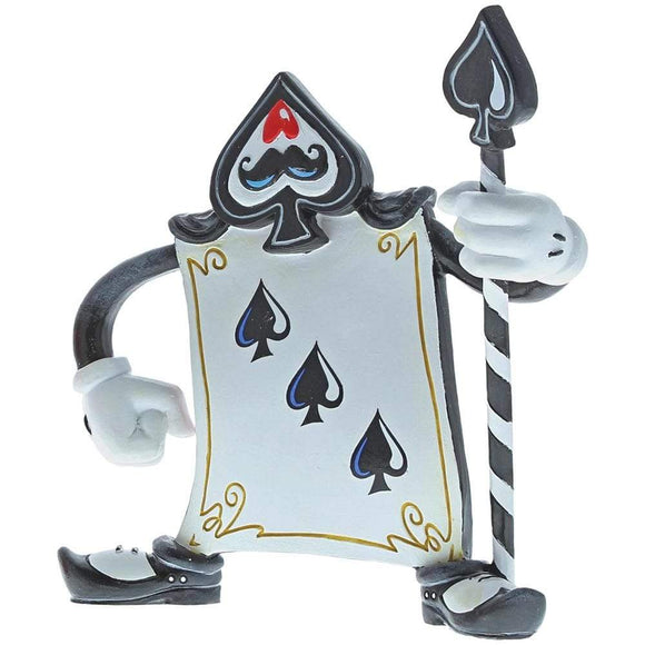Miss Mindy Card Guard Three of Spades Figurine