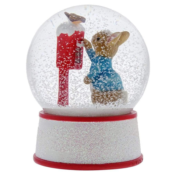 Beatrix Potter Peter Rabbit's Letter to Santa Water Ball