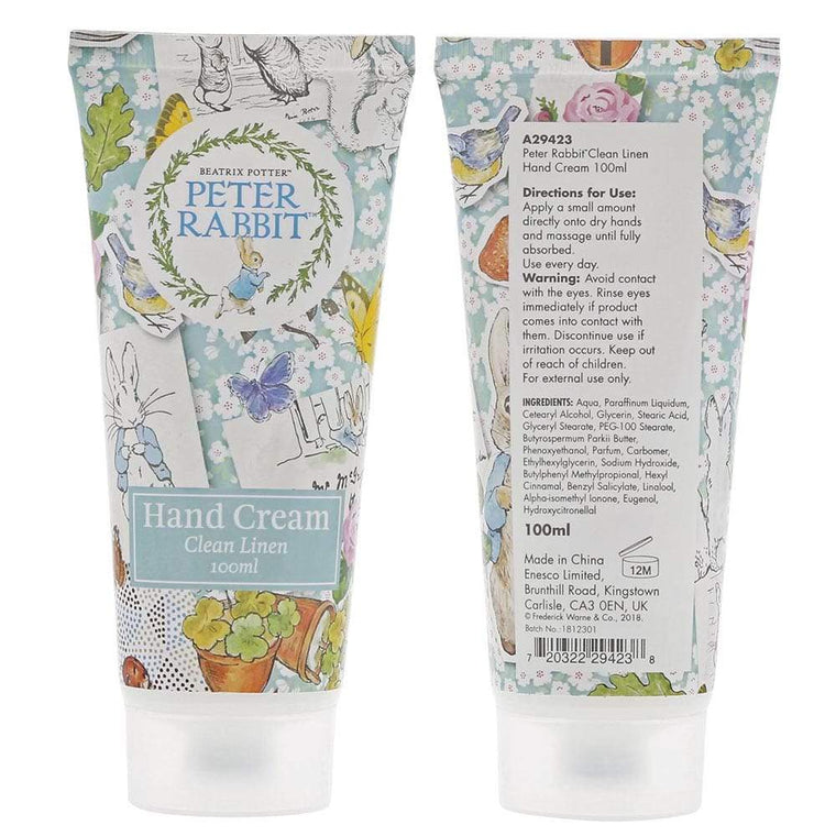 Peter Rabbit Clean Linen Hand Cream 100ml