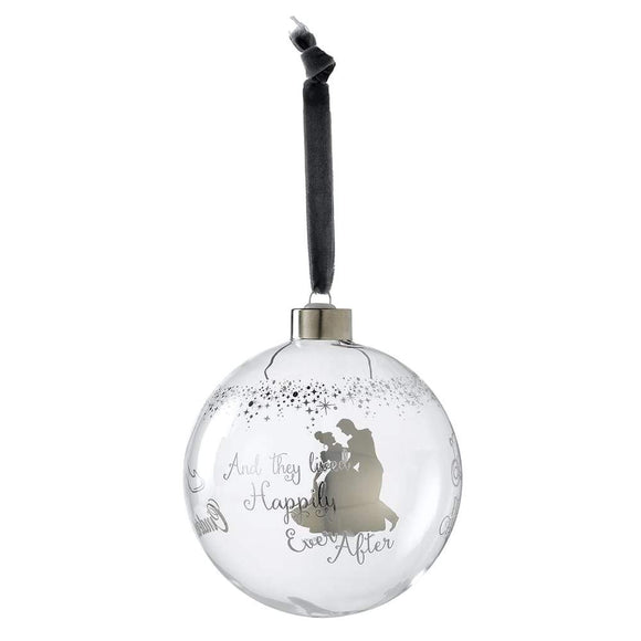 Cinderella Wedding Bauble by Enchanting Disney
