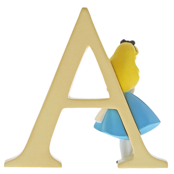 """A"" Alice in Wonderland Decorative Alphabet Letter by Enchanting Disney"