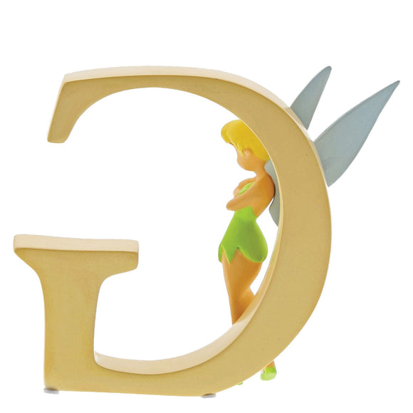 """G"" - Tinker Bell Decorative Alphabet Letter by Enchanting Disney"
