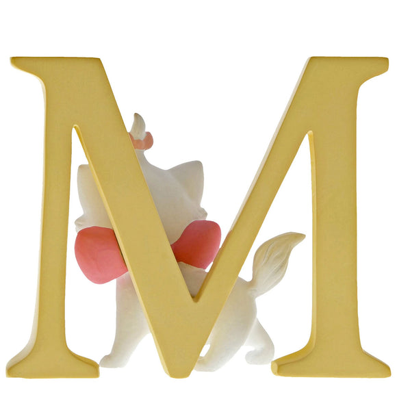 """M"" - Marie Decorative Alphabet Letter by Enchanting Disney"