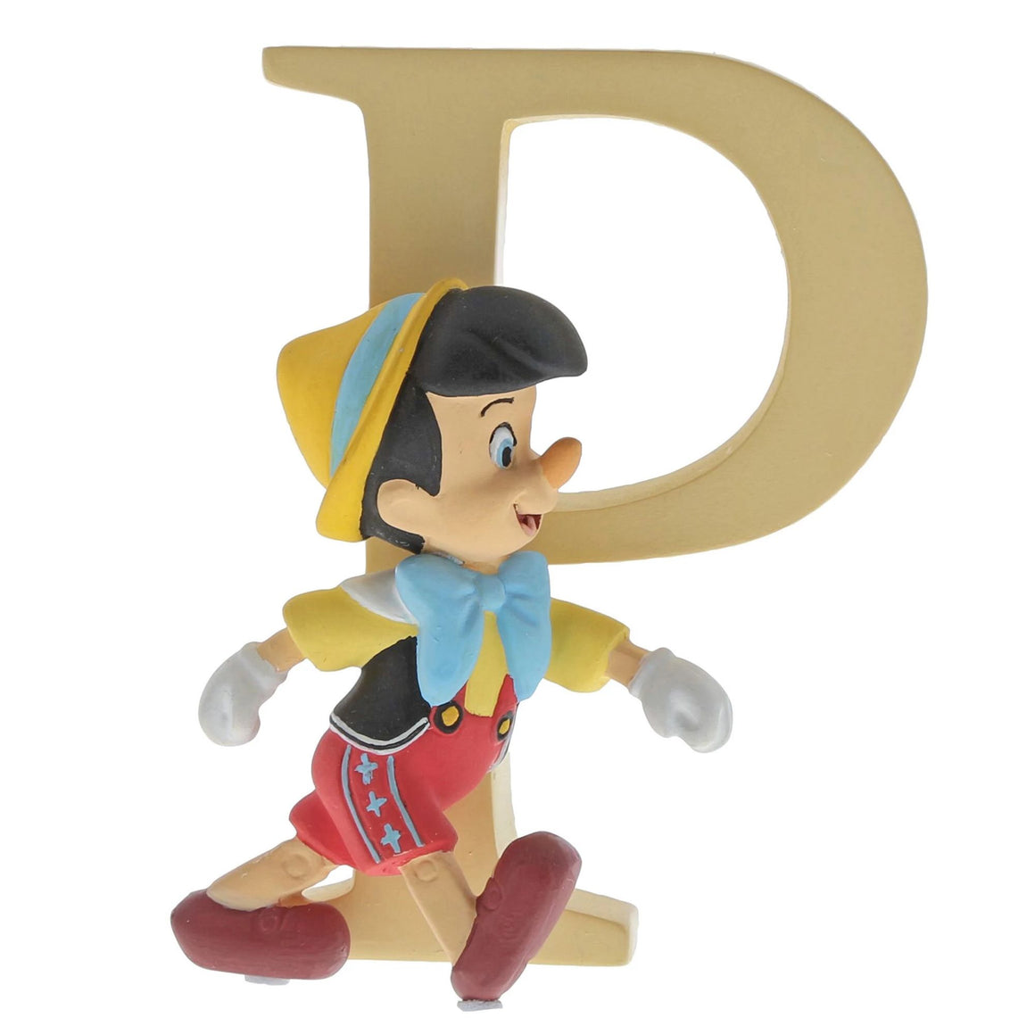 """P"" - Pinocchio Decorative Alphabet Letter by Enchanting Disney"