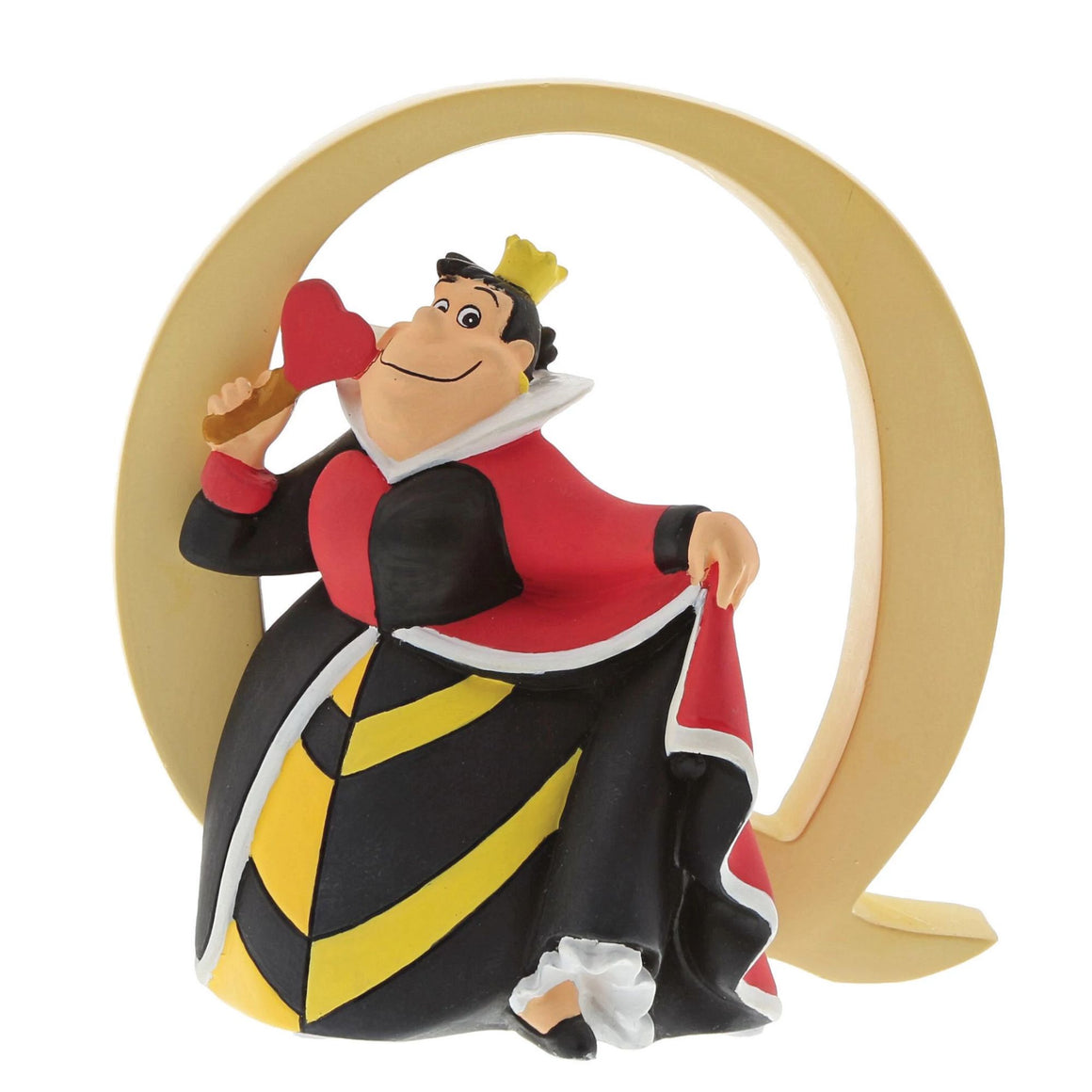 """Q"" - Queen of Hearts Decorative Alphabet Letter by Enchanting Disney"