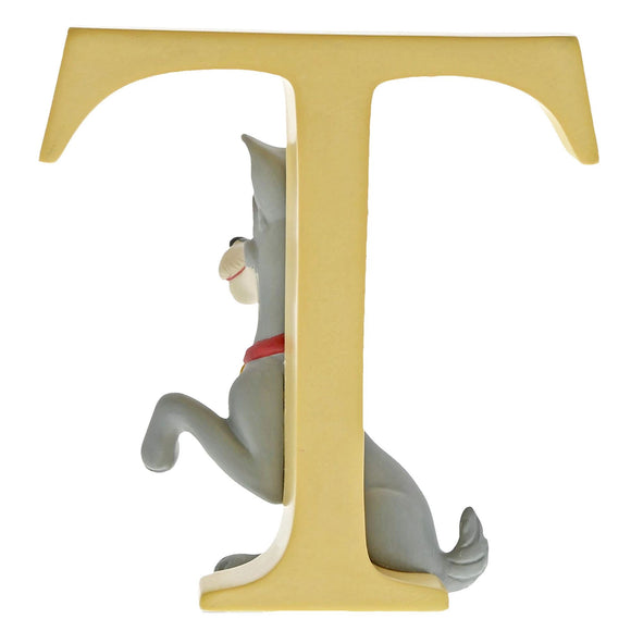 """T"" - Tramp Decorative Alphabet Letter by Enchanting Disney"