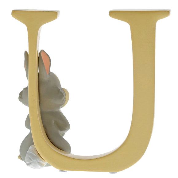 """U"" - Thumper Decorative Alphabet Letter by Enchanting Disney"