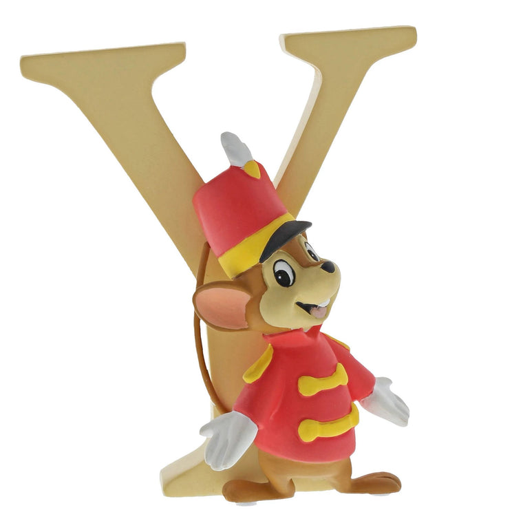 """Y"" - Timothy Q Mouse Decorative Alphabet Letter by Enchanting Disney"