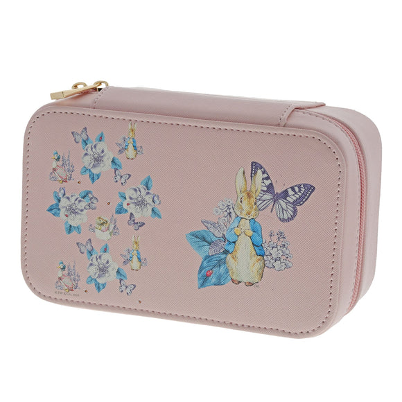Beatrix Potter Peter Rabbit Garden Party Jewellery Box (pink)