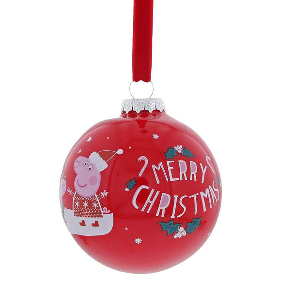 Christmas Bauble - Peppa Pig
