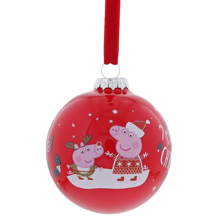 Peppa Pig Christmas Bauble