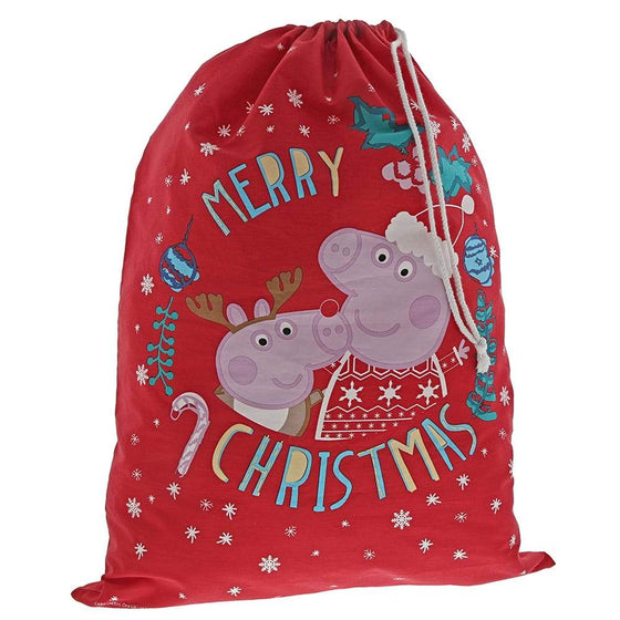 Christmas Sack - Peppa Pig