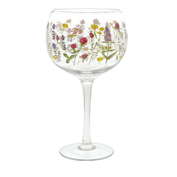 Wildflowers Gin Copa Glass by Ginology