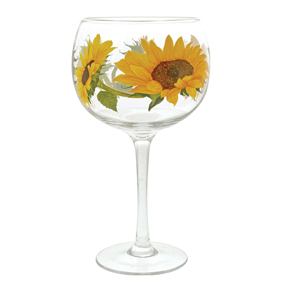 Sunflower Gin Copa Glass by Ginology