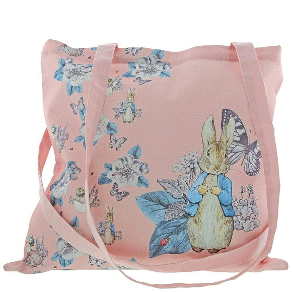 Beatrix Potter Peter Rabbit Garden Party Tote Bag (Pink)