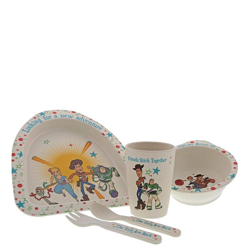 Toy Story 4 Bamboo Dinner Set by Enchanting Disney