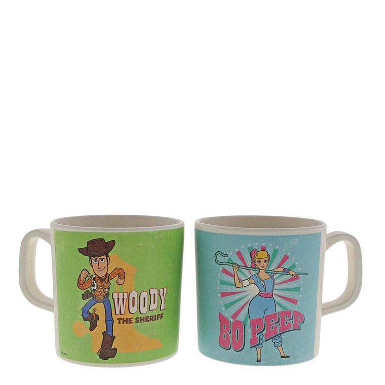 Woody and Bo Peep Bamboo Mug Set by Enchanting Disney