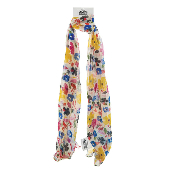 Alice in Wonderland Scarf - Ladies accessories by Enchanting Disney Collection
