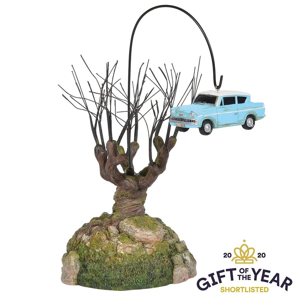 Whomping Willow Tree Model - Harry Potter Village by D56