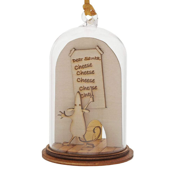 Christmas Mouse Hanging Ornament - Kloche by Millbrook Gifts