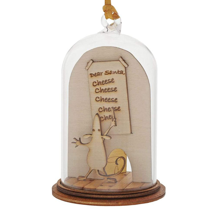 Dear Santa Christmas Hanging Ornament - Kloche