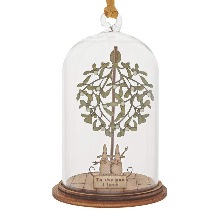 The One I Love at Christmas Hanging Ornament - Kloche