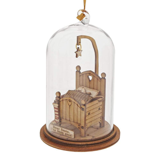 Dear Santa, I've Been Good Hanging Ornament - Kloche by Millbrook Gifts