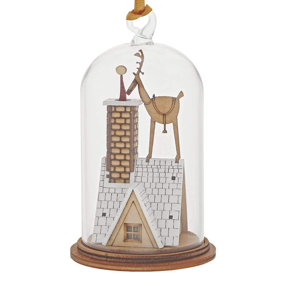 Up on the Roof Hanging Ornament - Kloche by Millbrook Gifts
