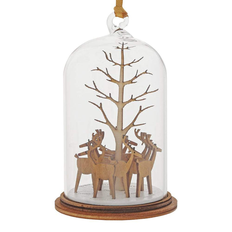 Santa's Reindeer Hanging Ornament - Kloche by Millbrook Gifts