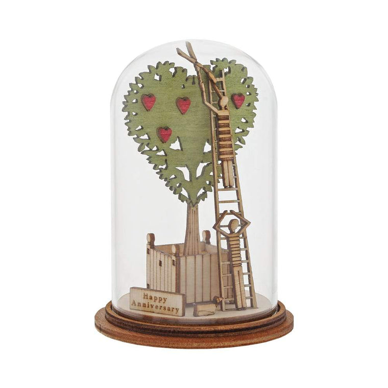 Happy Anniversary Figurine - Kloche by Millbrook Gifts