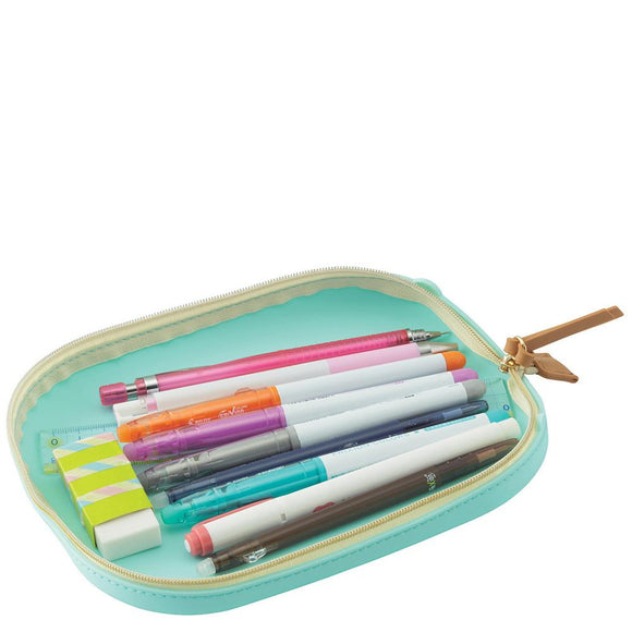 Lemon Yellow Pen Tray Case (Large)