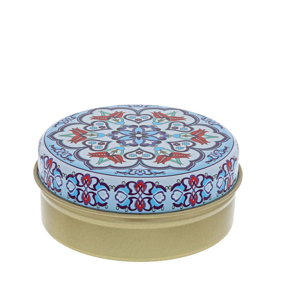Pale Blue Kaleidoscope with Olive Soap