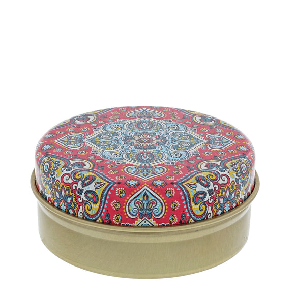 Red and Blue Kaleidoscope with Olive Soap