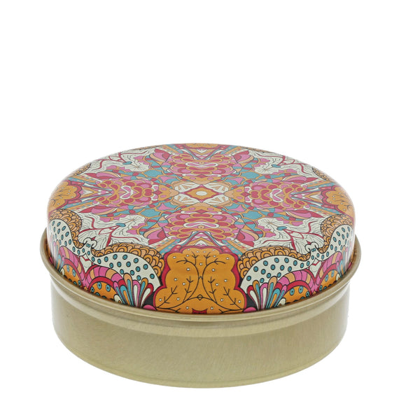 Orange and Pink Kaleidoscope with Pomegranate Soap