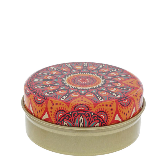 Red & Orange Kaleidoscope with Olive Soap