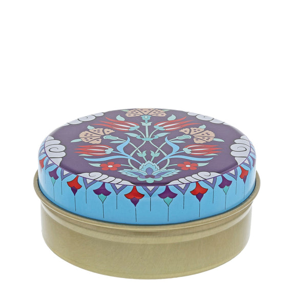 Blue and Red Kaleidoscope with Blue Frame with Olive Soap