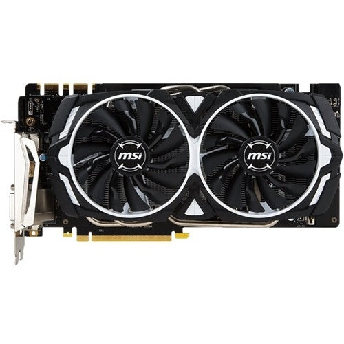 MSI - NVIDIA GeForce GTX 1070 8GB GDDR5 PCI Express 3.0 Graphics Card - Black/White