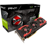 PNY - XLR8 NVIDIA GeForce GTX 1070 8GB GDDR5 PCI Express 3.0 Graphics Card - Black/Red