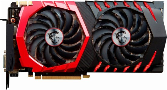 MSI - NVIDIA GeForce GTX 1070 GAMING X BV 8GB GDDR5 PCI Express 3.0 Graphics Card - Black/Red