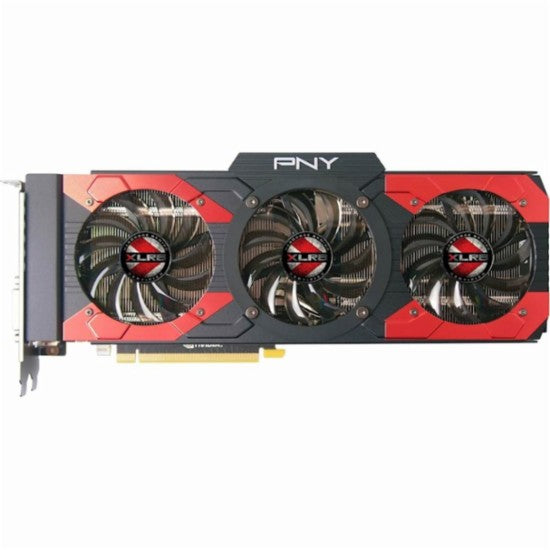 PNY - XLR8 NVIDIA GeForce GTX 1080 8GB GDDR5X PCI Express 3.0 Graphics Card - Black/Red