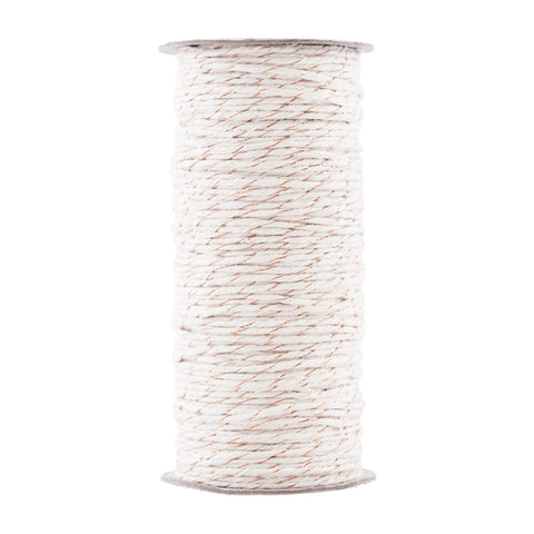 HOUSE DOCTOR GOLD WHITE COTTON TWINE