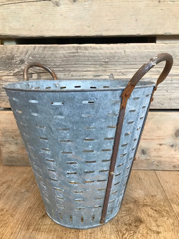 Vintage Oyster Bucket