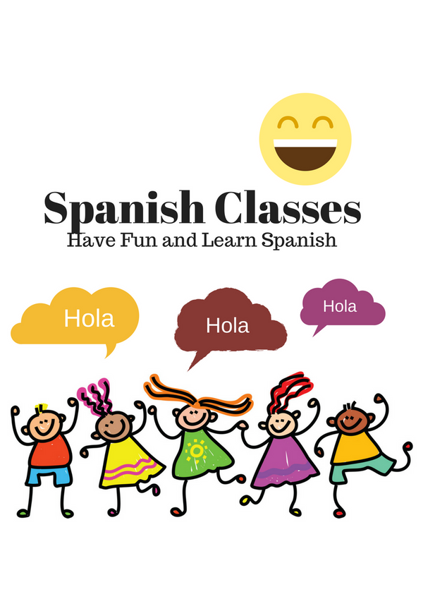 Spanish Classes! Thursday 3-4:30PM $30