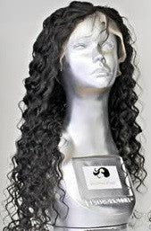 $100K Collection(7A Brazilian) Lace Front Wig in $100K Deep Wave