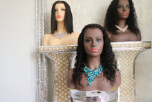 READY 2 WEAR $100K Collection(7A Brazilian) 360 Lace Front Wig in $100K Deep Wave